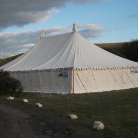 Marquee Wedding In North Devon. Civil Wedding